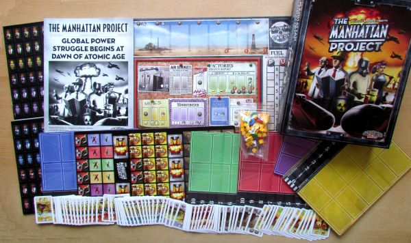 The Manhattan Project - packaging