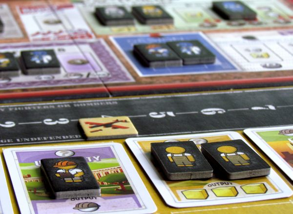 The Manhattan Project - game in progress