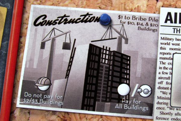 The Manhattan Project - board detail