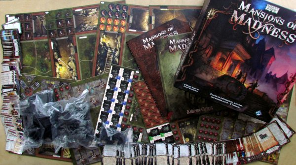 Mansions of Madness - packaging