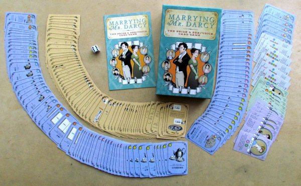 Marrying Mr. Darcy - packaging