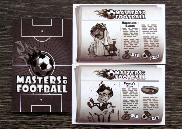 Masters of Football - cards