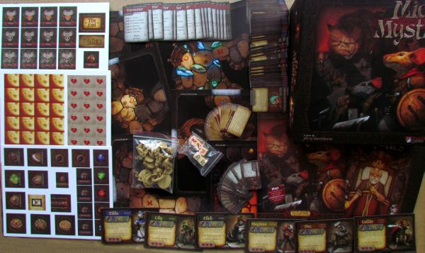Mice and Mystics - packaging