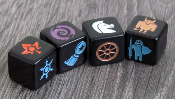 Monsters & Maidens - dice