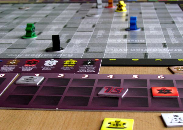 Mutant Meeples - game in progress