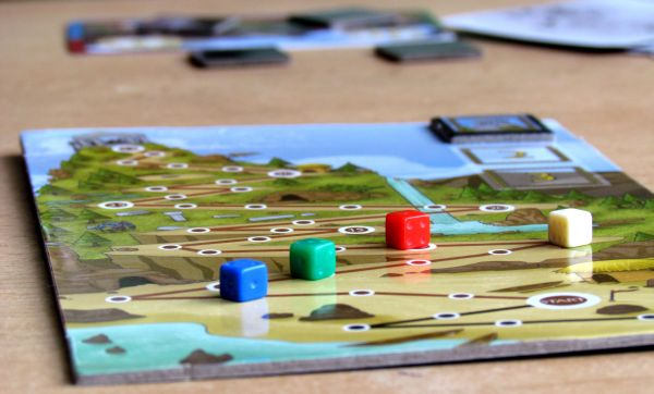 Olympos / Olympeak - game in progress