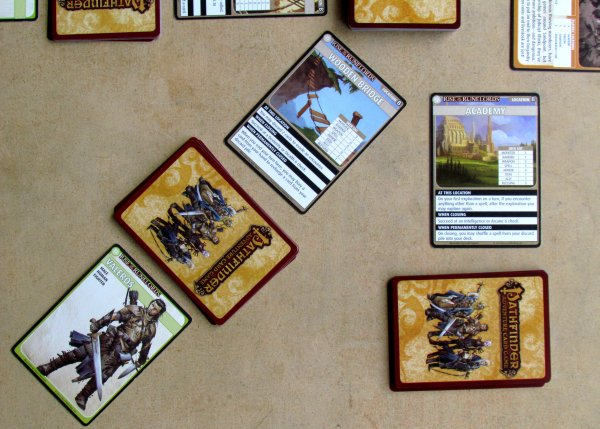 Pathfinder ACG: Rise of the Runelords Base Set - game is ready