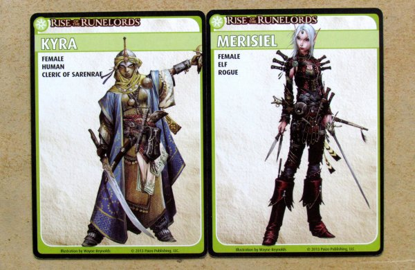 Pathfinder ACG: Rise of the Runelords Base Set - cards
