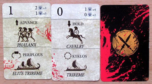 Polis: Fight for the Hegemony - cards