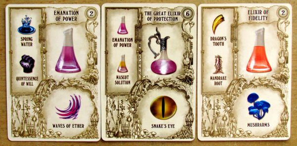 Potion Making: Practice - cards
