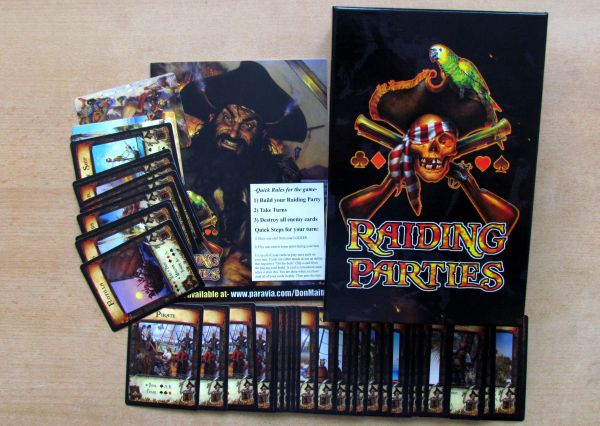 Raiding Parties: Brethren of the Coast - packaging
