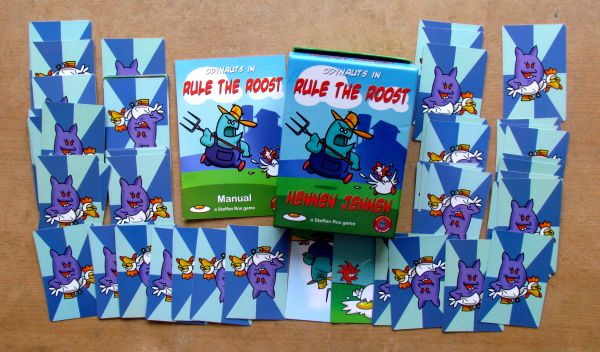 Rule the Roost - packaging