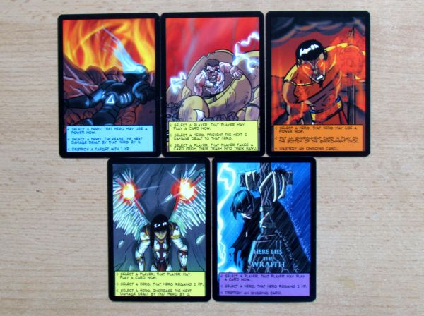 Sentinels of the Multiverse - cards