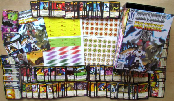 Sentinels of the Multiverse: Enhanced Edition - packaging