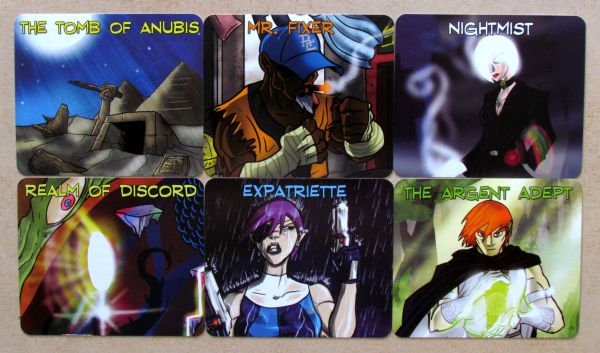 Sentinels of the Multiverse: Enhanced Edition - cards