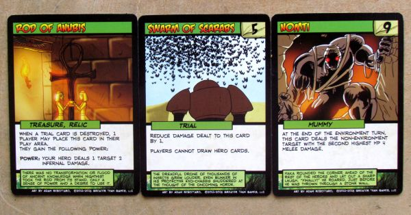 Sentinels of the Multiverse: Infernal Relics - cards