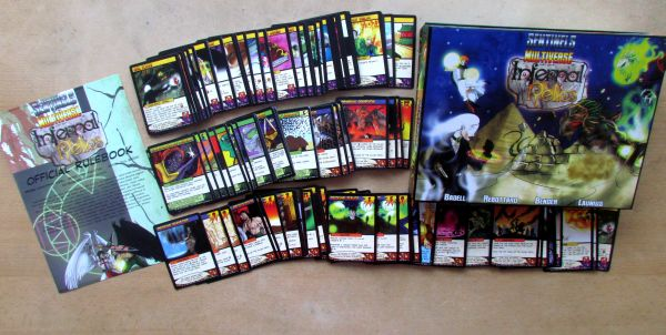 Sentinels of the Multiverse: Infernal Relics - packaging