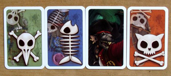 Sewer Pirats - cards