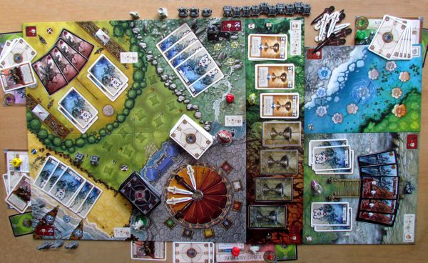 Shadows over Camelot - game in progress