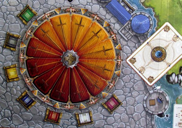 Shadows over Camelot - board detail