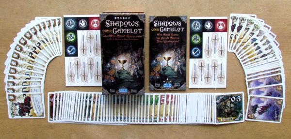 Shadows over Camelot: Card Game - packaging