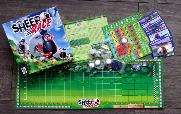 The Sheep Race - packaging