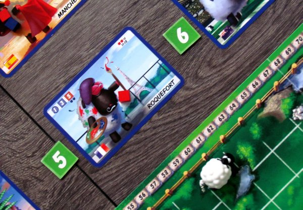 The Sheep Race - game in progress