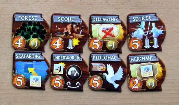 Small World - ability cards