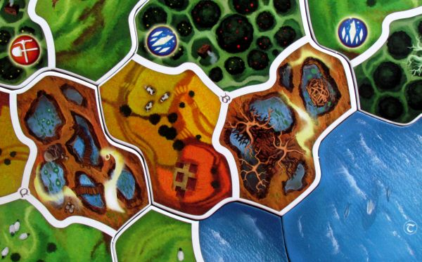 Small World: Realms - map detail