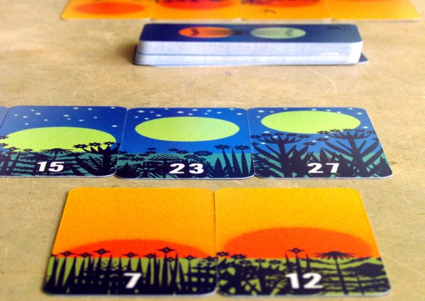 Sonne und Mond - game in progress