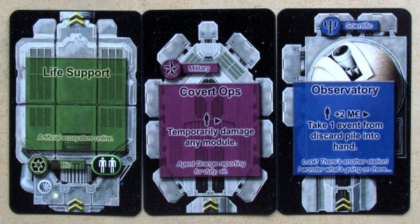 Space Station - cards