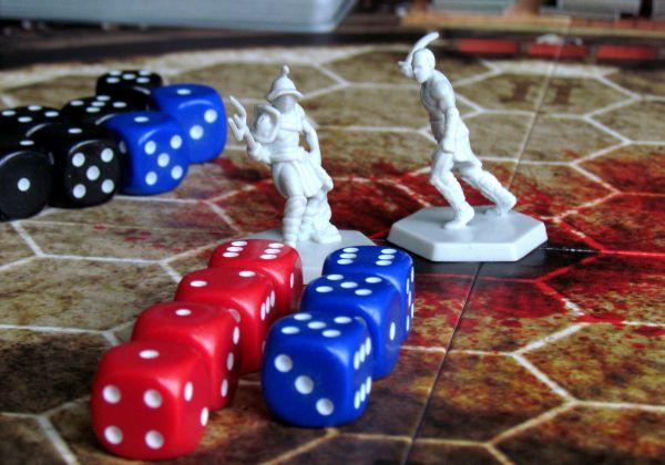 Spartacus: A Game of Blood and Treachery - game in progress