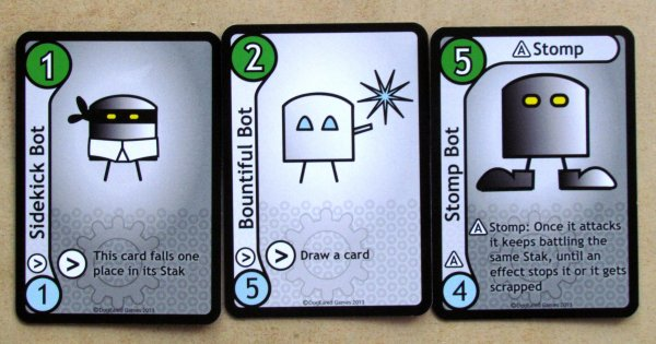 Stak Bots - cards