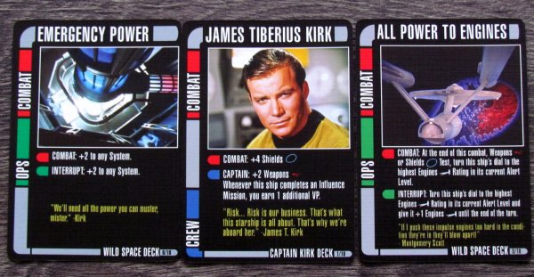 Star Trek: Fleet Captains - cards