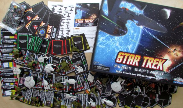 Star Trek: Fleet Captains - packaging