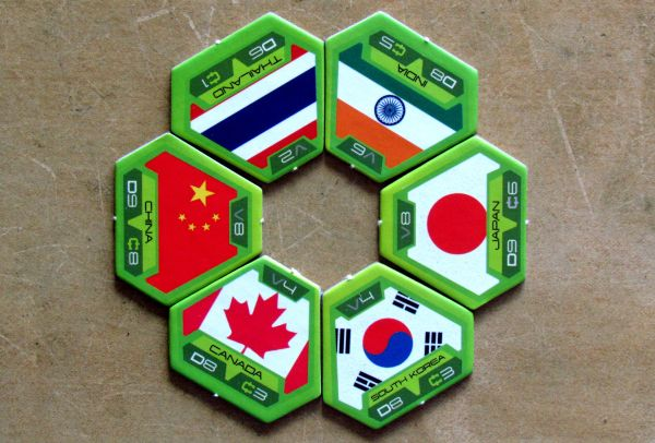 Target Earth - tokens