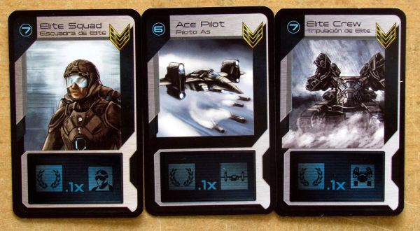 Target Earth - cards