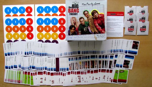 The Big Bang Theory: Party Game - packaging