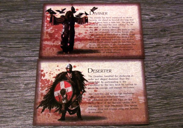The Convicted - cards