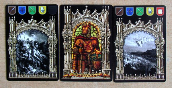 The Kingdoms of Crusaders - cards