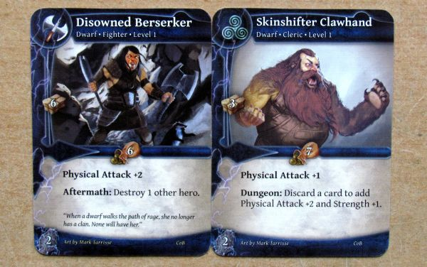Thunderstone Advance: Caverns of Bane - cards
