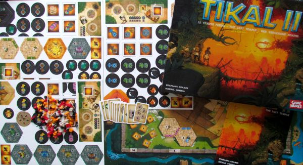 Tikal II: The Lost Temple - packaging