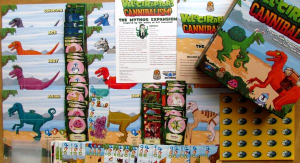 Velociraptor! Cannibalism! - packaging
