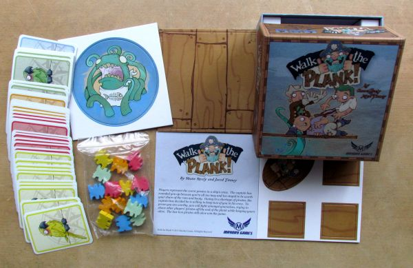 Walk the Plank - packaging