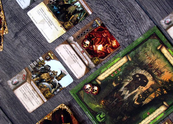 Warhammer: Invasion LCG - game in progress