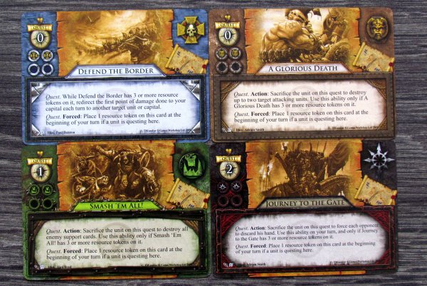 Warhammer: Invasion LCG - cards