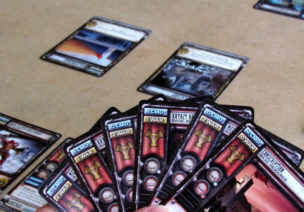 Warmachine: High Command - game is ready