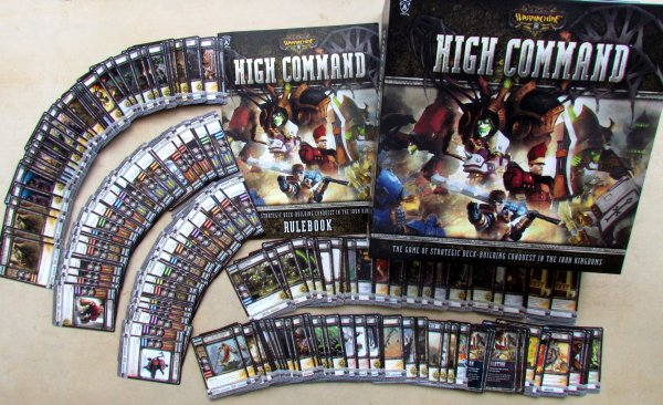 Warmachine: High Command - packaging