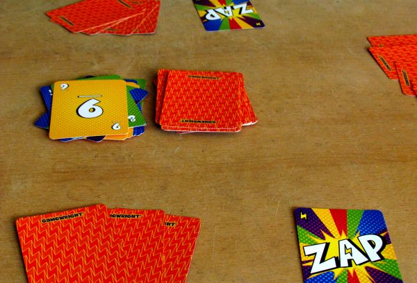 Zip Zap - game in progress