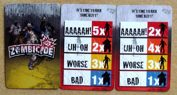 Zombicide - cards